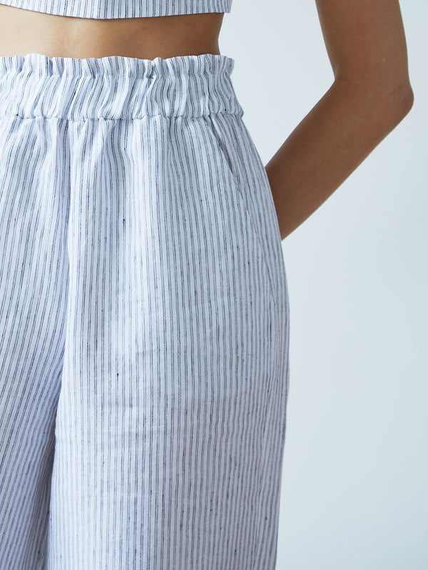 NATALIA TROUSERS STRIPED