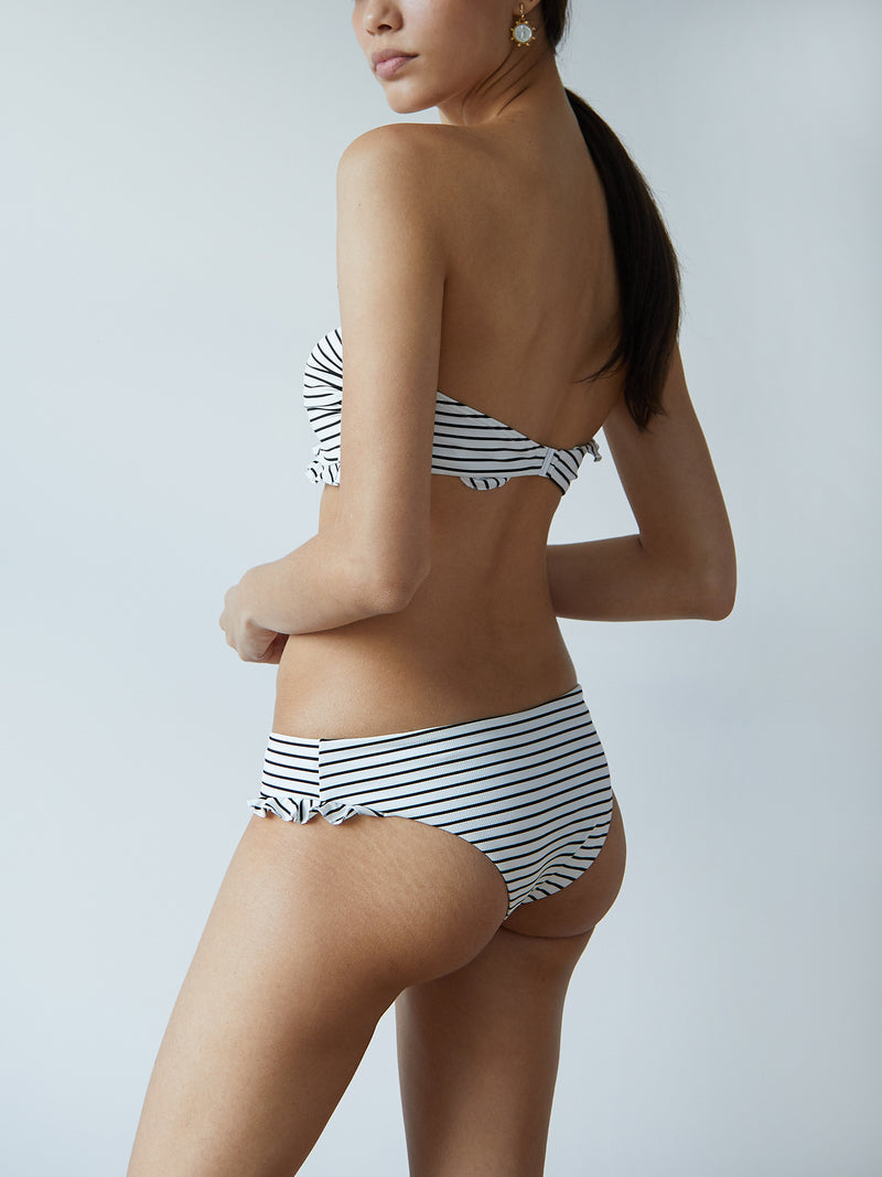 OLIVIA BOTTOM STRIPED