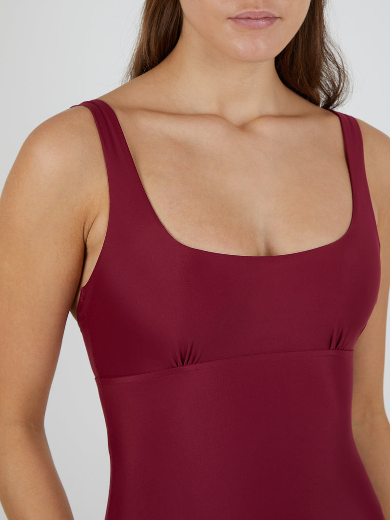 CAROLINA MAILLOT RASPBERRY