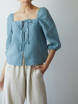 NICOLA TOP BLUE