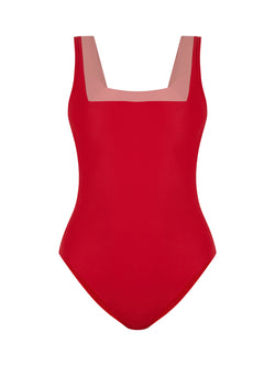 MARINA MAILLOT RED