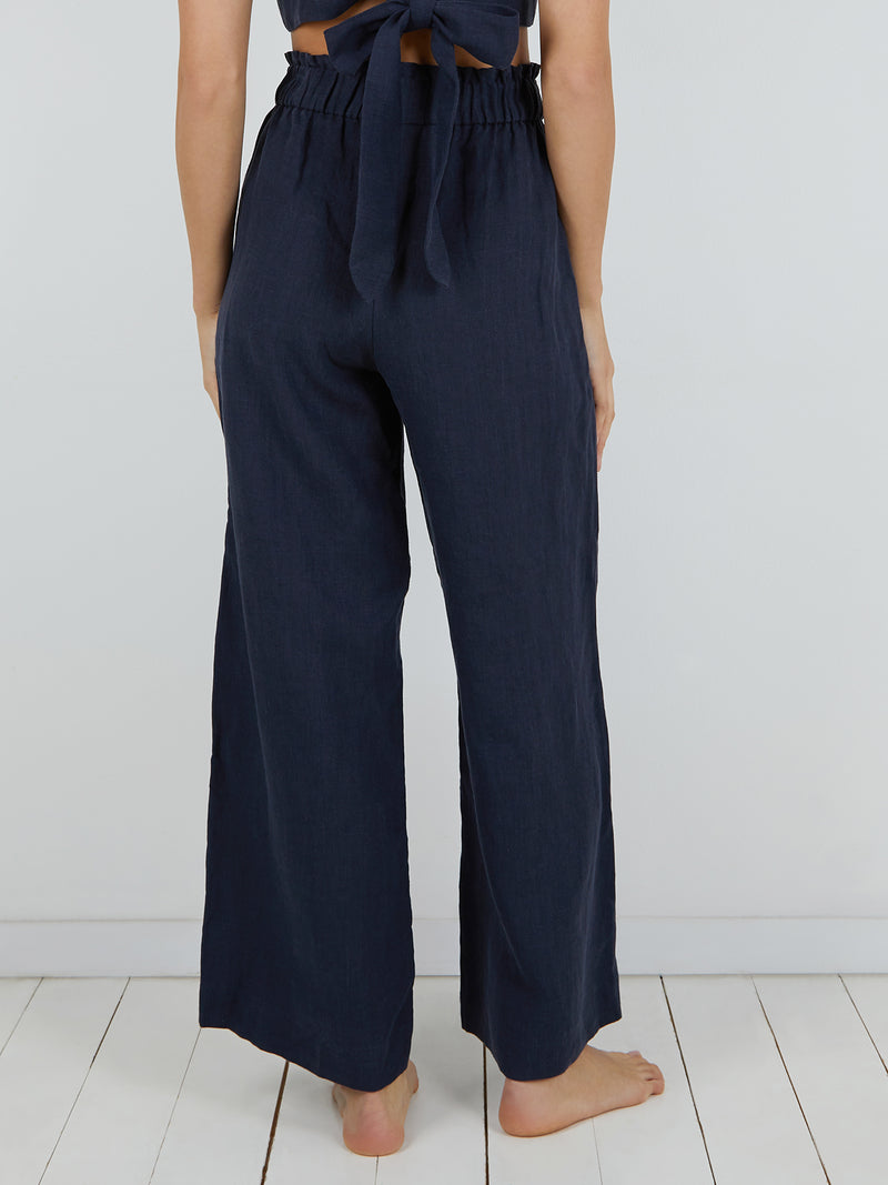 NATALIA TROUSERS NAVY