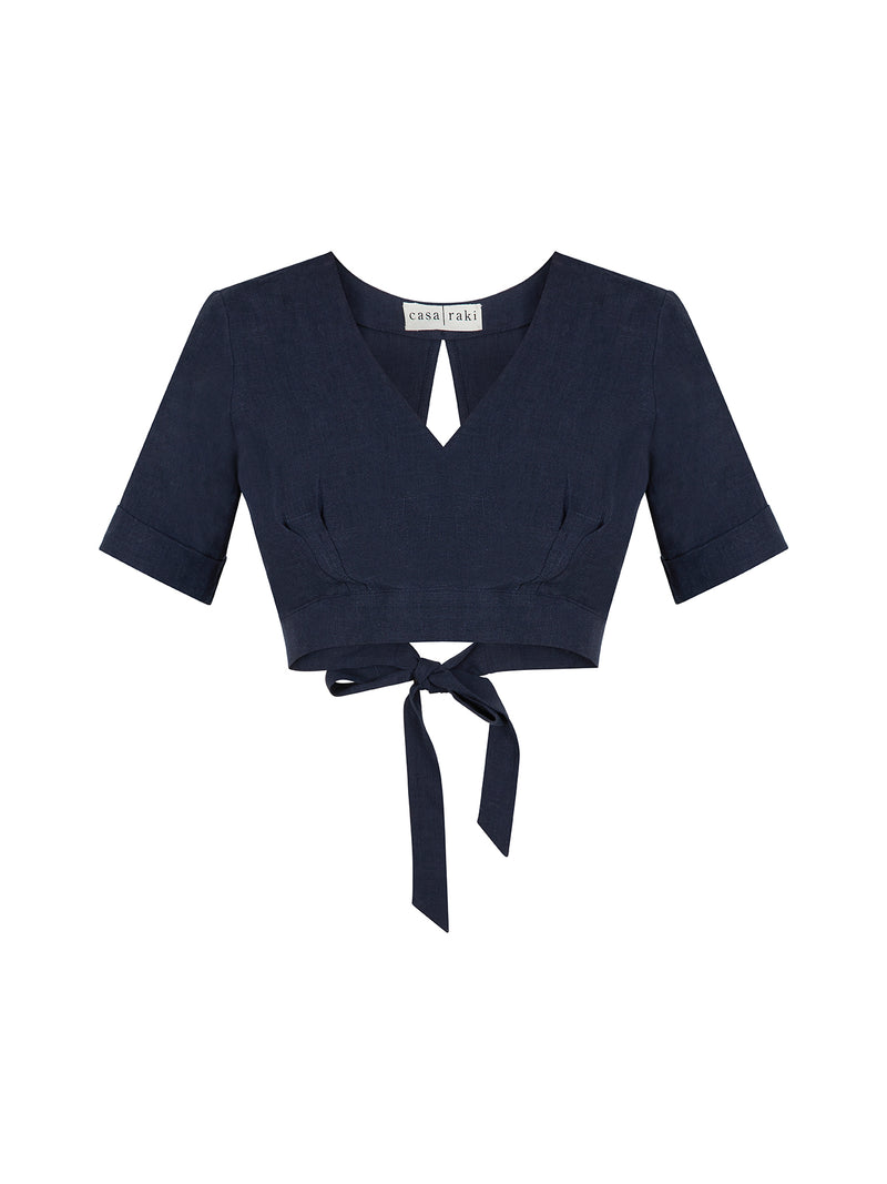 JIMENA TOP NAVY
