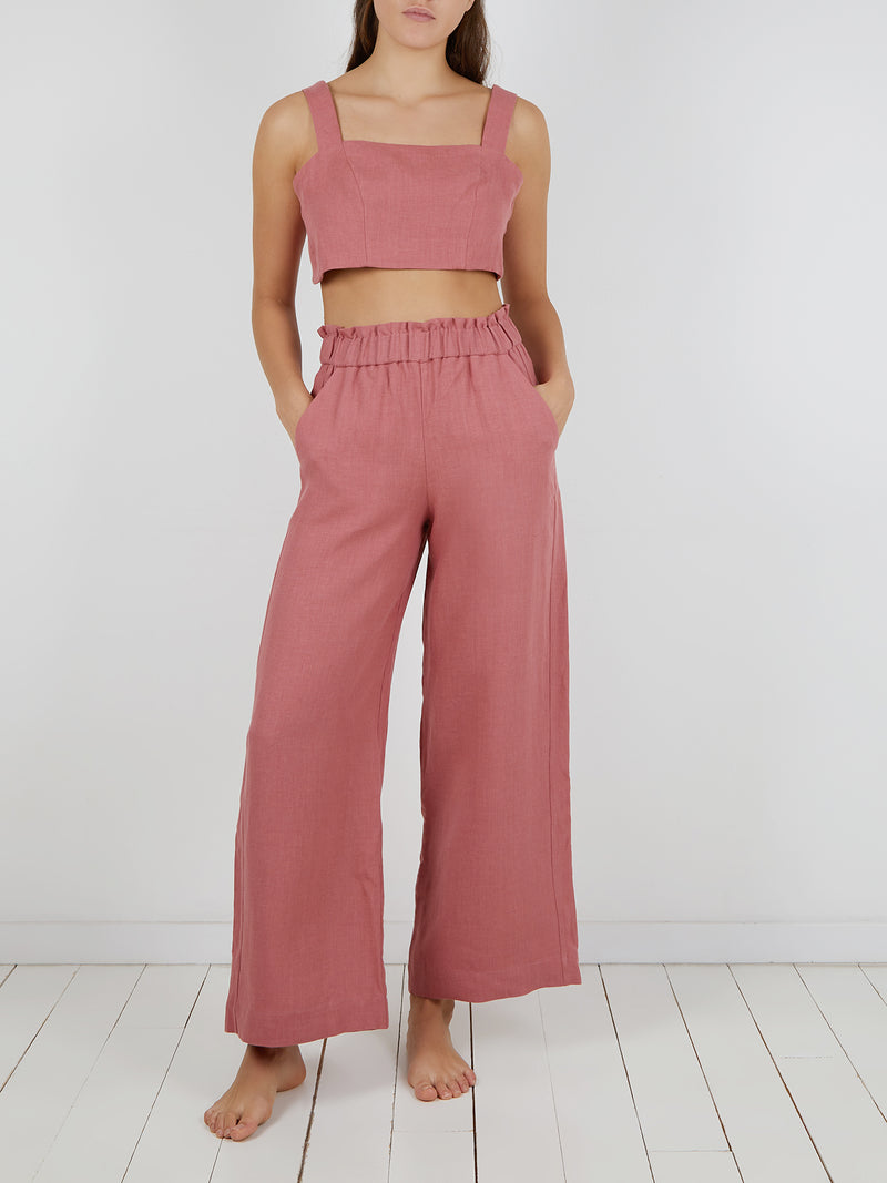 NATALIA TROUSERS PINK