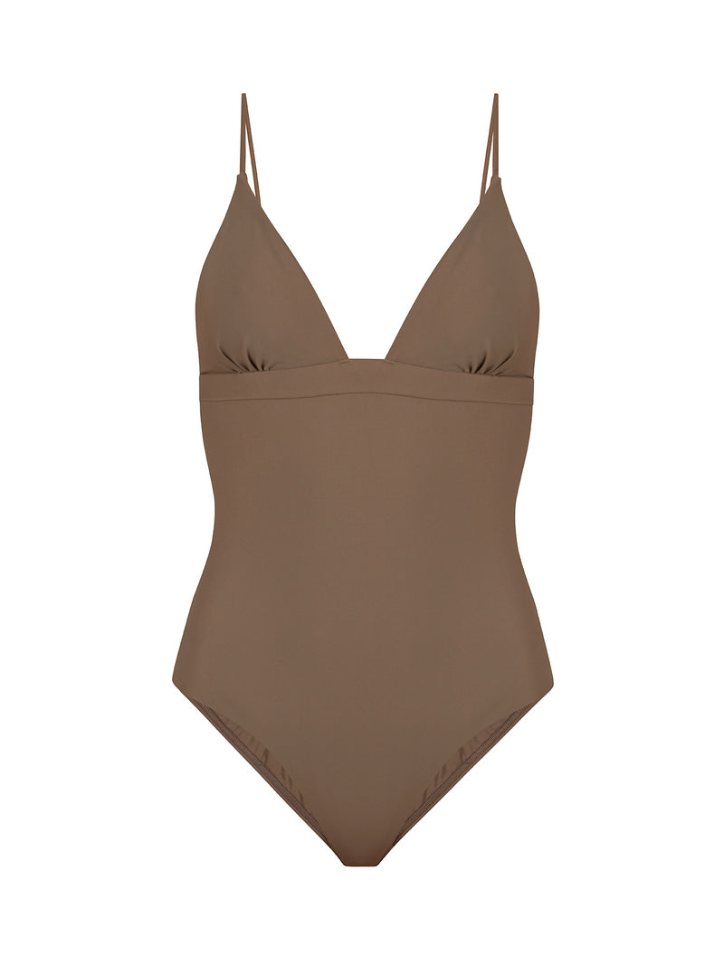 MAGGIE MAILLOT TAUPE