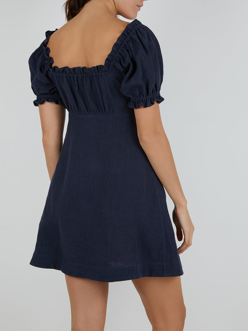 VALENTINA DRESS NAVY