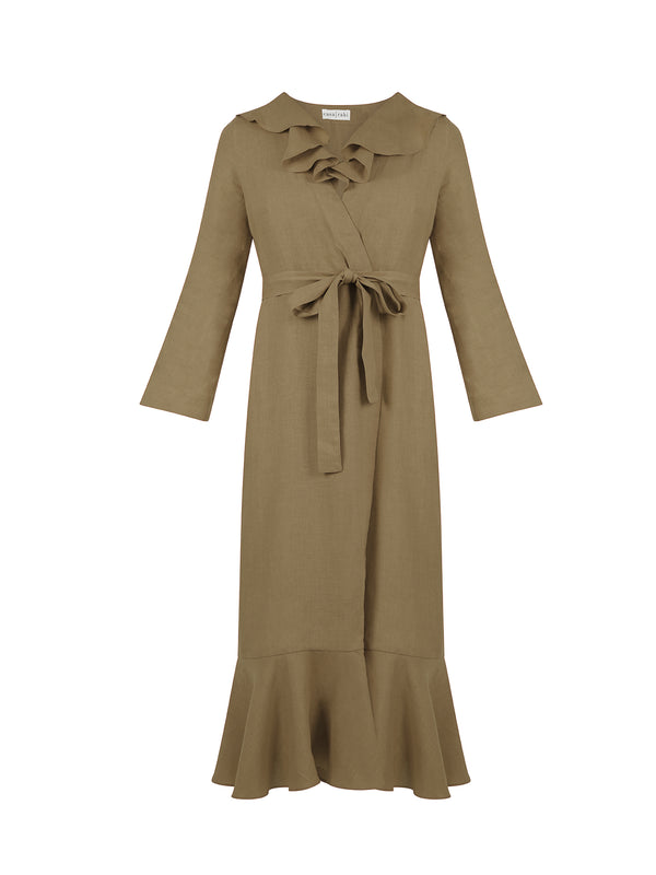 ESME DRESS TAUPE