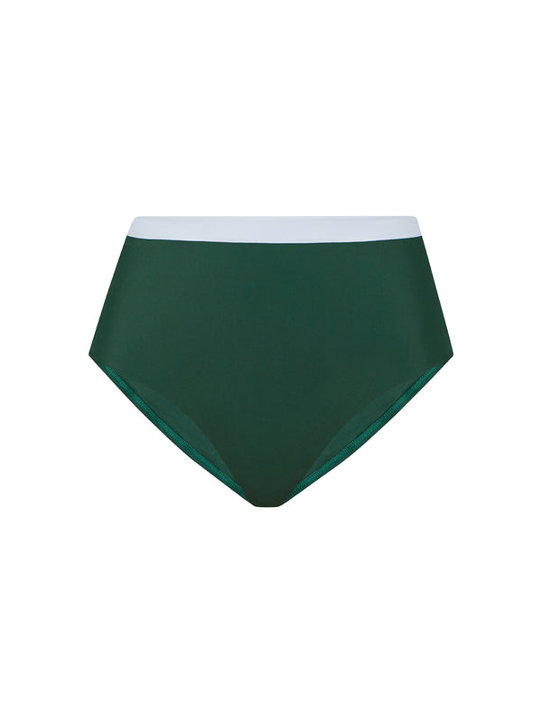 MARINA BOTTOM GREEN/WHITE