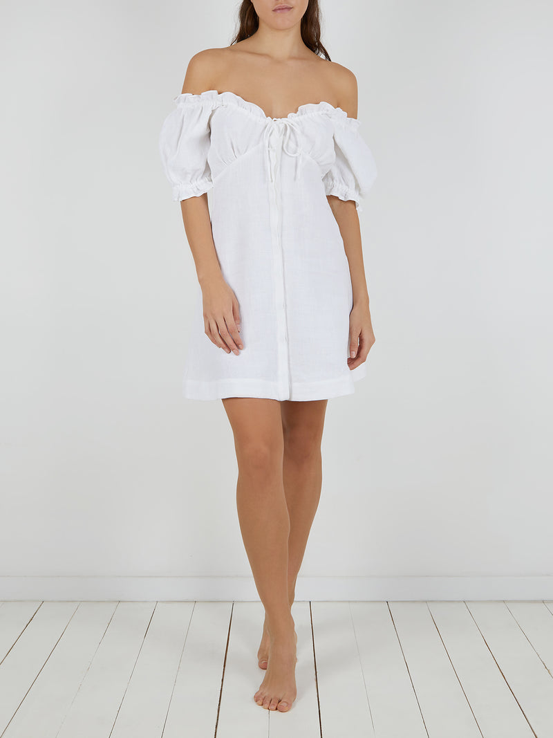 VALENTINA DRESS WHITE