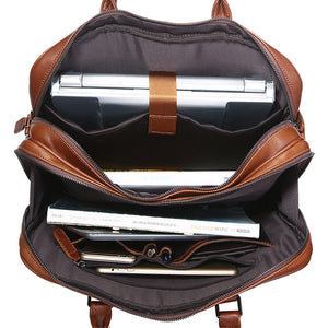 Dante leather Brief Case