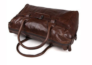 Strapper Leather Duffle Bag
