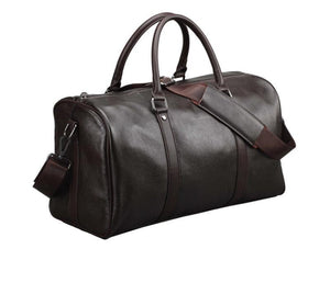 Jumbo Ruck Real Leather Tote