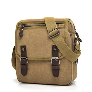 Comfort Essential Canvas Shoulder Bag