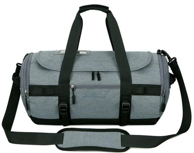 Gym and sport bags for men in canvas leather and nylon