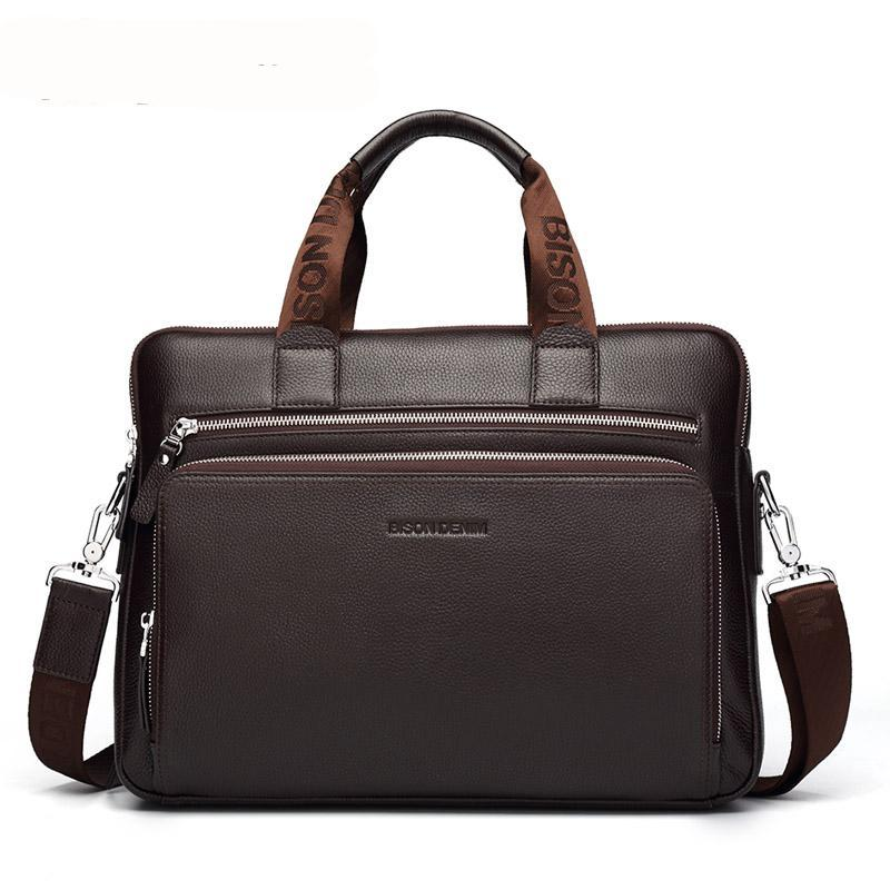 Empire Briefcase In Real Leather