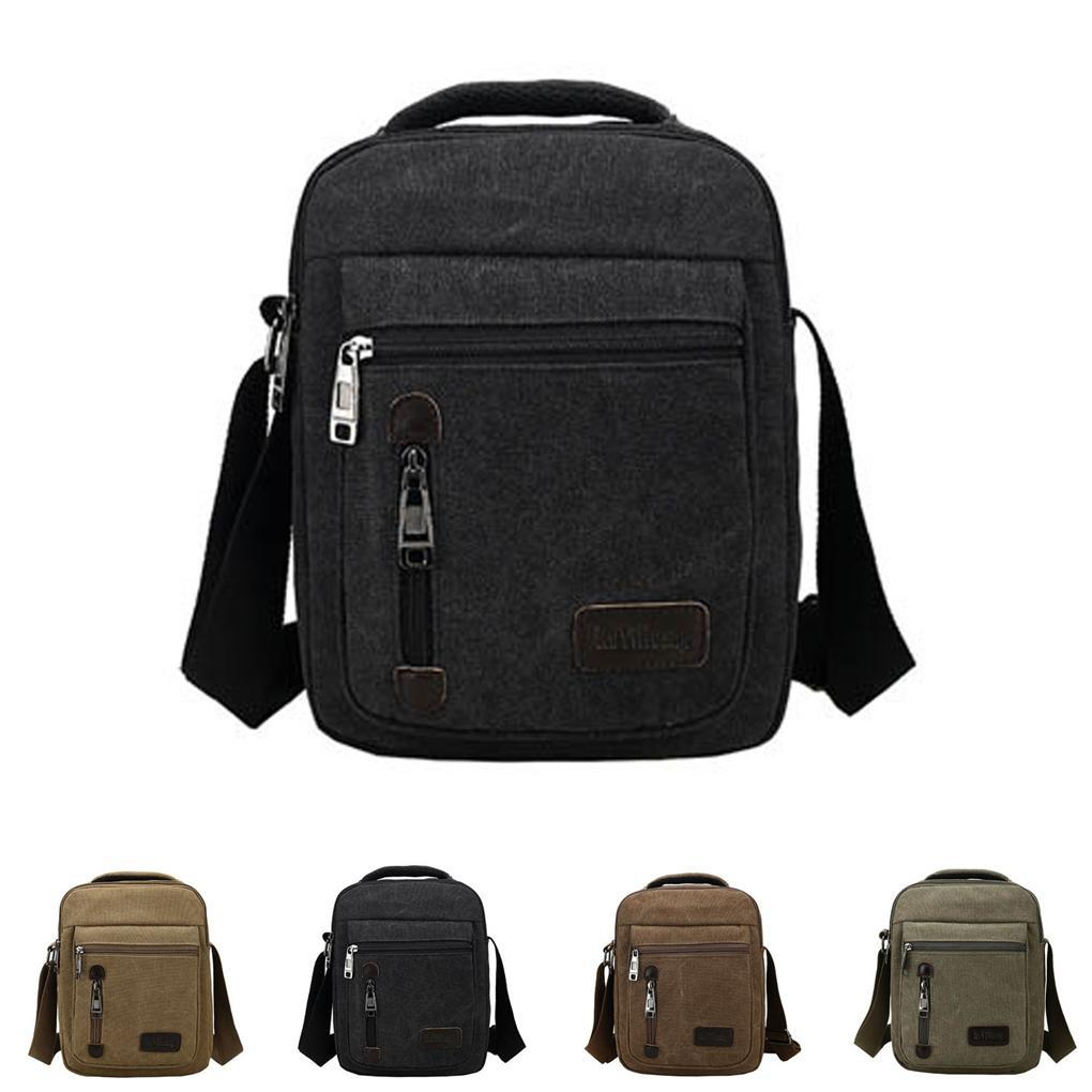 Multi-functional Canvas Shoulder Bag