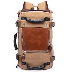Tiger Bay Large Capacity Canvas Back Pack
