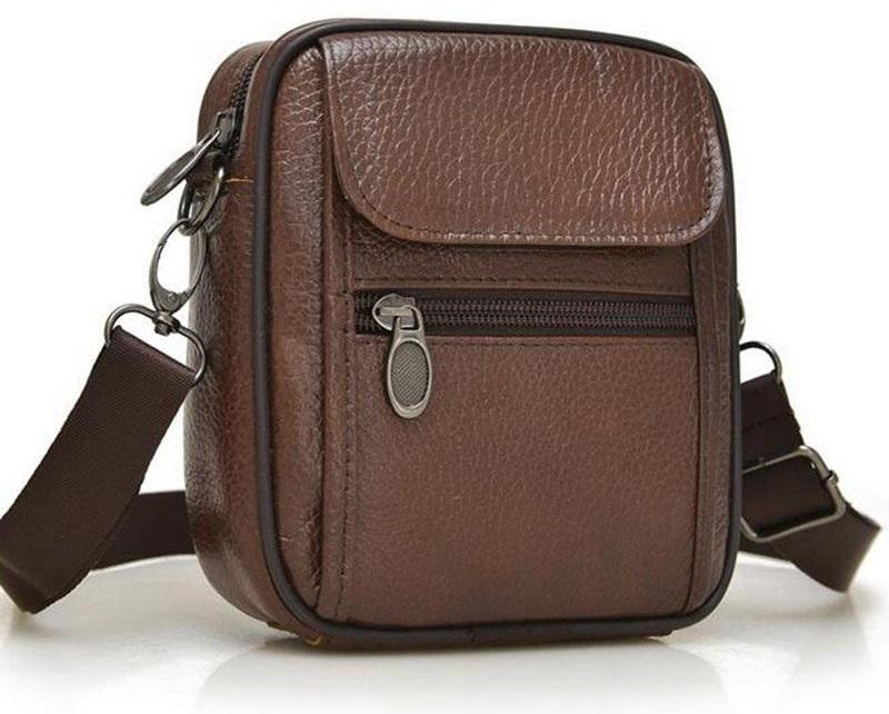 Mini Max 2 Small Leather Shoulder Bag