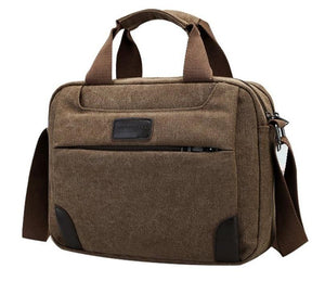 Crusader Two Canvas Satchel