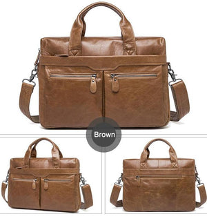 Metro Max Shoulder Bag Brief Case