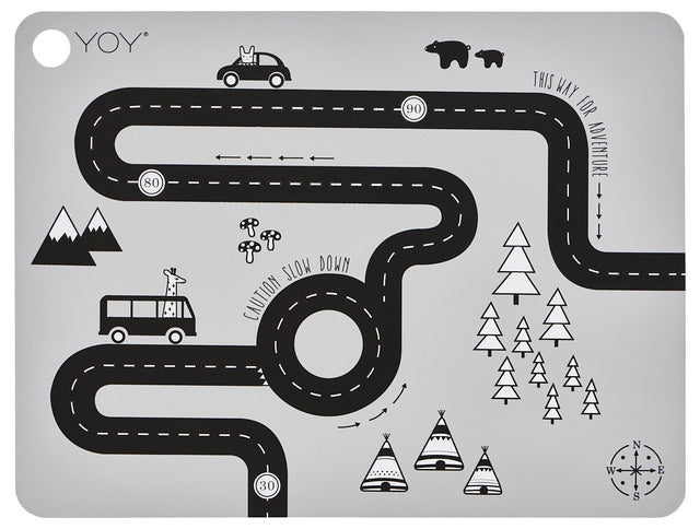 Adventure placemat, Autorata tabletti OYOY
