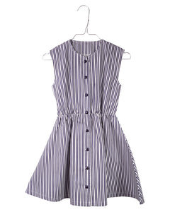 Krutter Vintage striped Ingeborg dress mekko napeilla