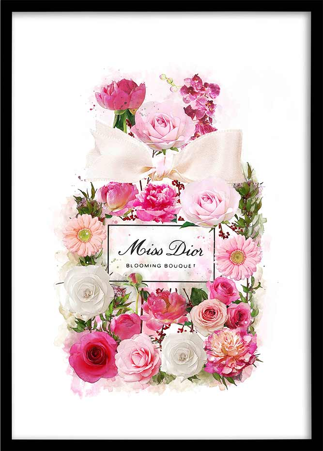 Miss Dior Blooming - Floral Perfume Bottle