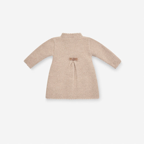 KNITTED HAZELNUT COAT