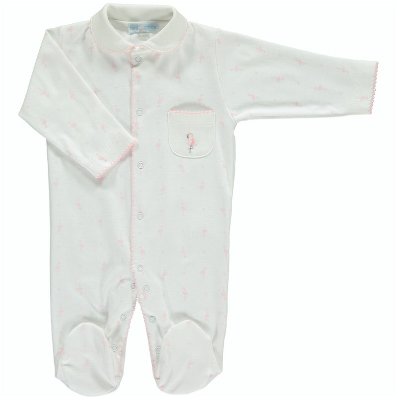 FLAMINGO POCKET BABY GROW