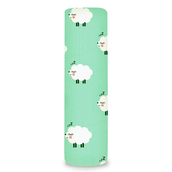 MUSLIN CLOTH - GREEN SHEEP