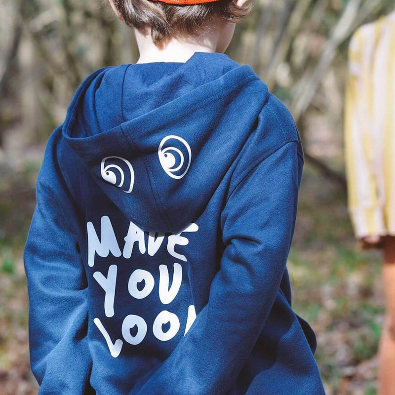 MADE YOU LOOK HOODIE - NAVY