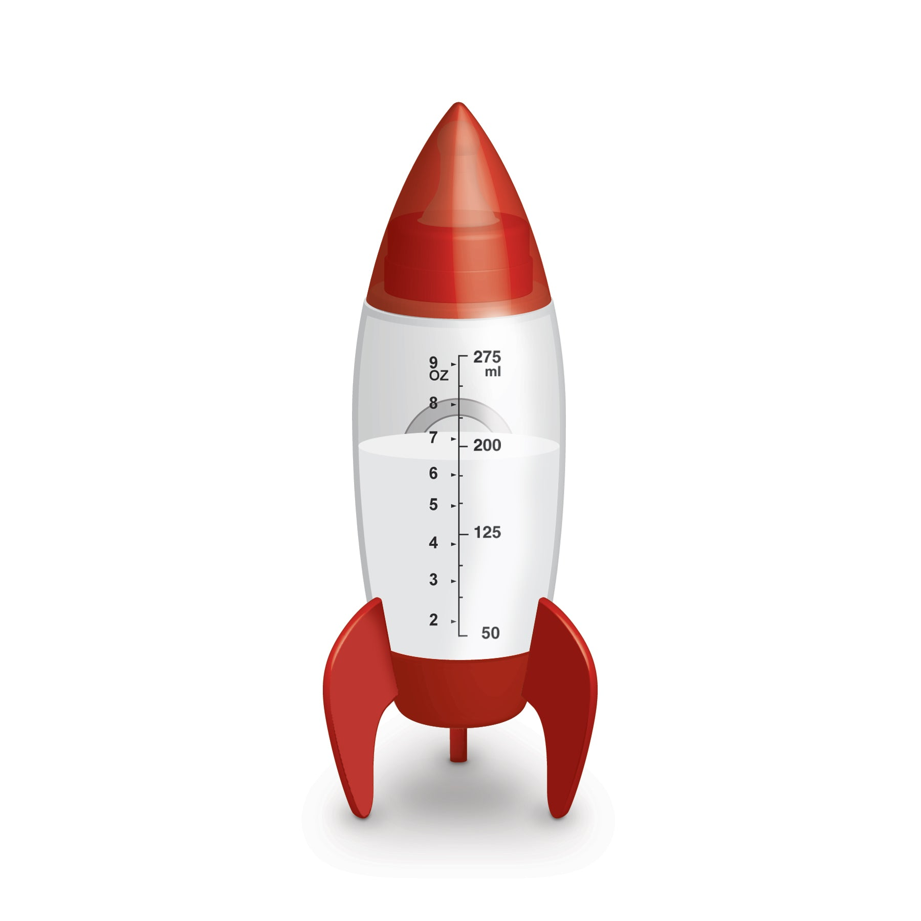 SPACE ROCKET BABY BOTTLE