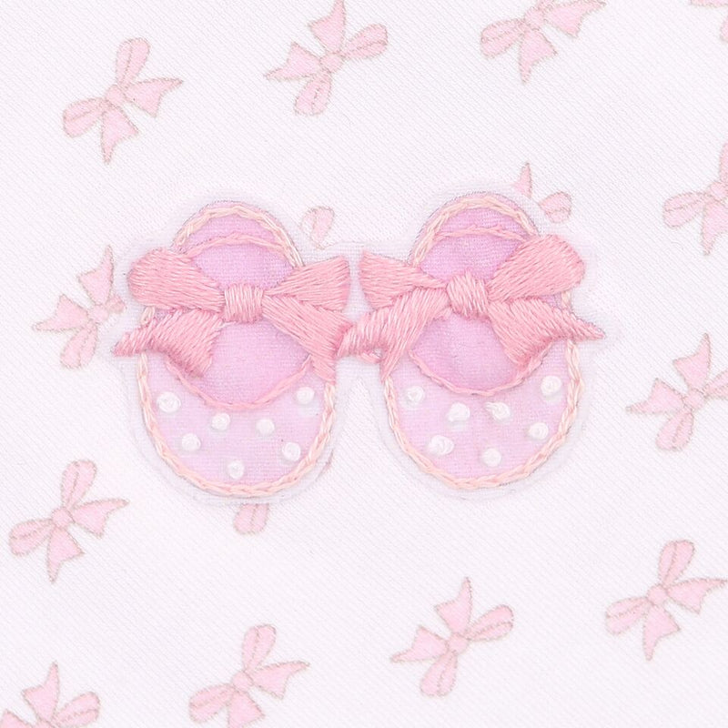 BABY'S FIRST SHOES - EMBROIDERED BABY GROW