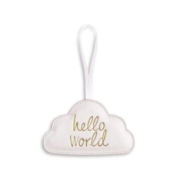 HELLO WORLD HANGING DECORATION