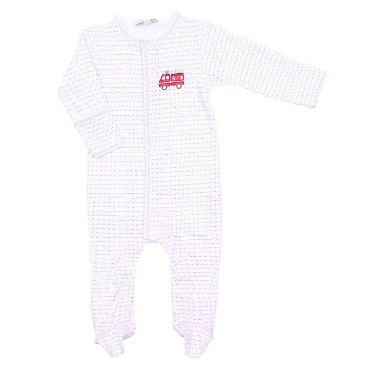 SOUND THE ALARM - EMBROIDERED BABY GROW
