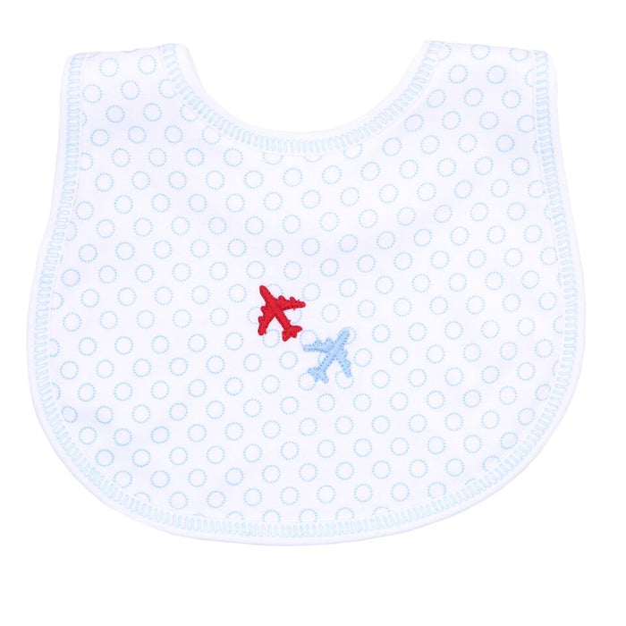 FLY ZONE - EMBROIDERED BIB