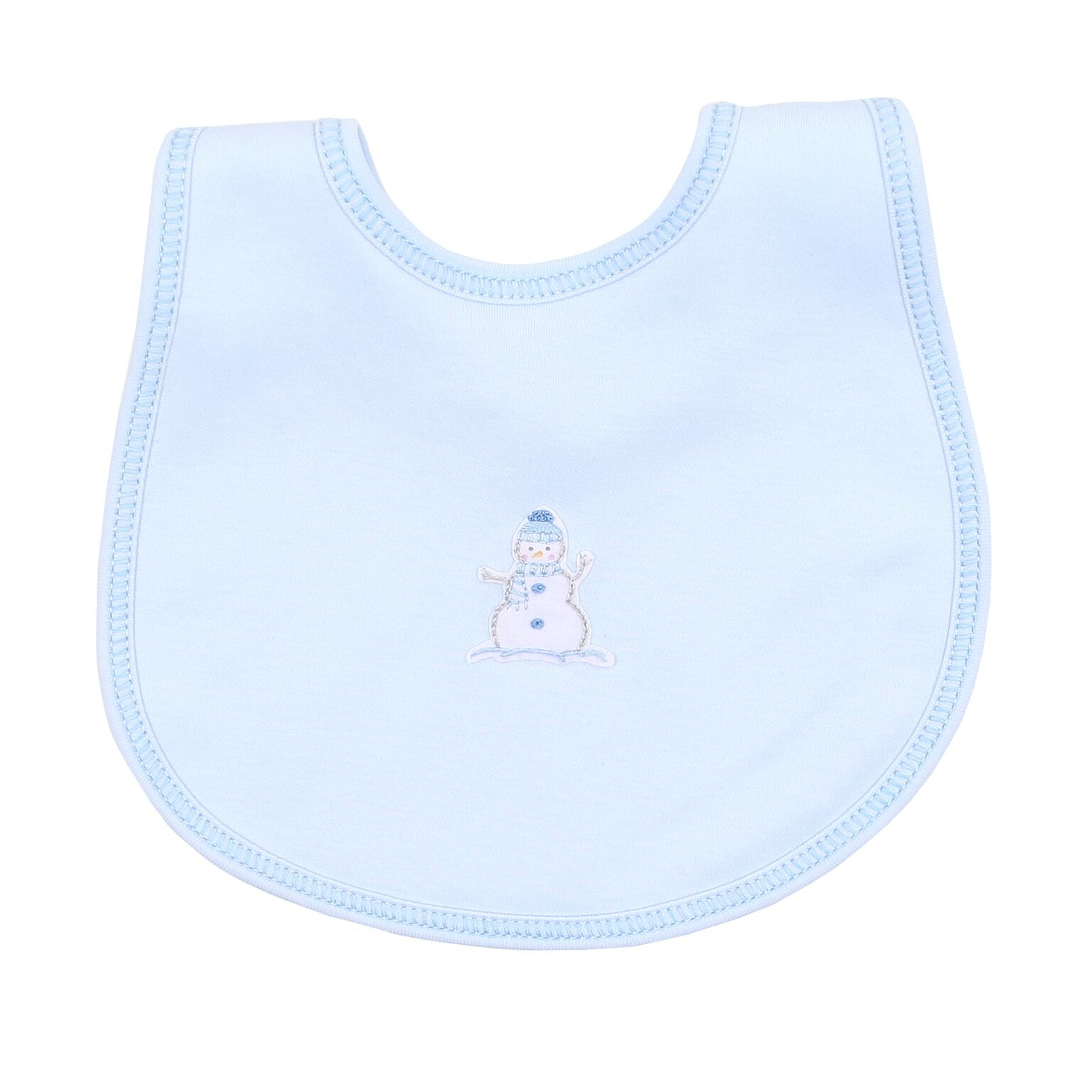 BLUE FROSTY FUN BIB