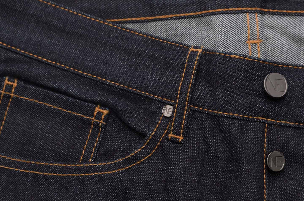 raw selvedge denim - one denim