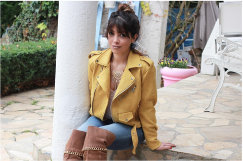French blogger Mona Jafarian from 'When Shabby Loves Chic' blog writes about One Denim
