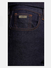 Women - Raw Straight Jean- Raw Italian Denim - detail image - one denim