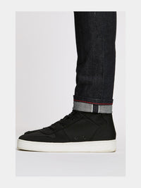 Men - Slim Fit Jean - Japanese Selvedge Denim - selvedge detail image - one denim
