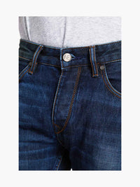 Men - Slim Fit Jean - American Selvedge Denim - detail front image - one denim