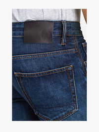 Men - Slim Fit Jean - American Selvedge Denim - detail back image - one denim