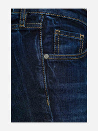 Women - Deep Blue Flare Jean - Japanese Denim - detail side image - one denim
