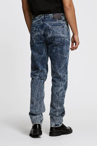 Men - Oversized Jean - Italian Organic Denim - back image - one denim