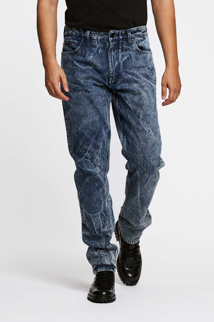 Men - Oversized Jean - Italian Organic Denim - front image - one denim