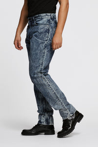 Men - Oversized Jean - Italian Organic Denim - side image - one denim