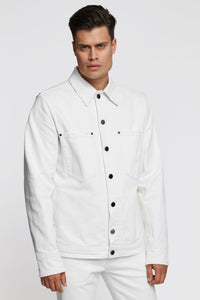 White Denim Jacket