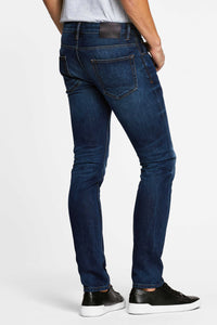 Men - Slim Fit Jean - American Selvedge Denim - back image - one denim