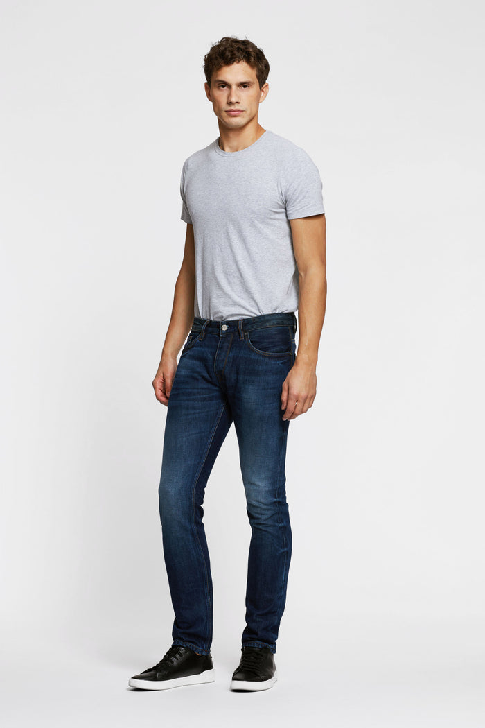 Men - Slim Fit Jean - American Selvedge Denim - front image - one denim